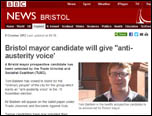 BBC News Bristol, 8 October 2012