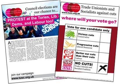 TUSC Leaflet and Poster