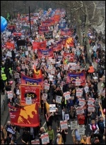 March 26 TUC demo