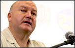 Bob Crow, RMT general secretary. Picture: Paul Mattsson