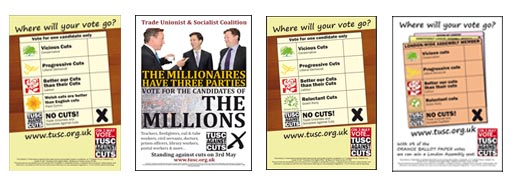 TUSC election posters
