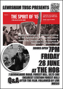 The Spirit of '45 leaflet