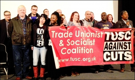 Hackney TUSC 2014 candidates , photo by Hackney TUSC