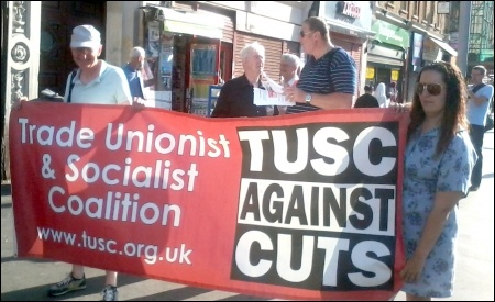 Tower Hamlets TUSC, photo Tower Hamlets TUSC