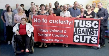 Waltham Forest TUSC candidates, photo by Waltham Forest TUSC