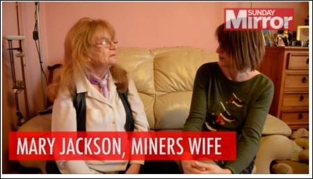 Mary Jackson, photo by Sunday Mirror, 9/2/14