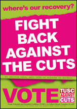 TUSC anti-cuts leaflet