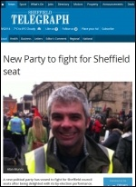 Sheffield Telegraph, 16/2/2014