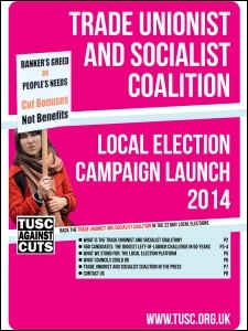 Press pack available for TUSC press launch, photo by TUSC