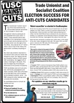 TUSC post-election leaflet