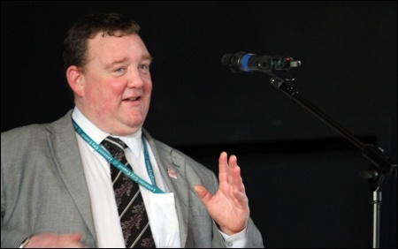 Leicester TUSC councillor Wayne Naylor