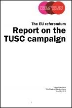 TUSC EU Campaign Report