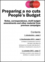 Peoples Budget briefing pack