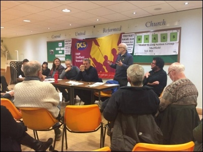 Sheffield People Budget meeting, February 2017
