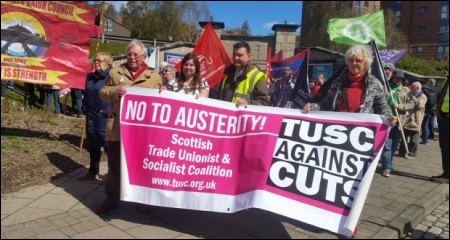 Scottish TUSC on the march