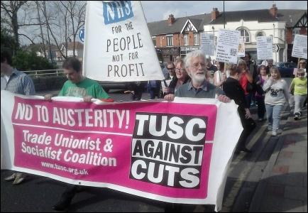 Doncaster Care UK workers demonstration, 2014