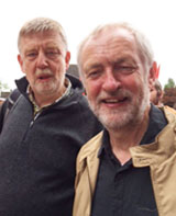 TUSC chair Dave Nellist & Jeremy Corbyn, September 2016
