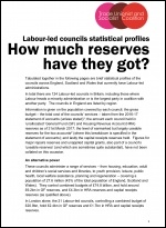 Councils reserves report